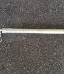 Muuranker staal 80 cm met haak/p.st