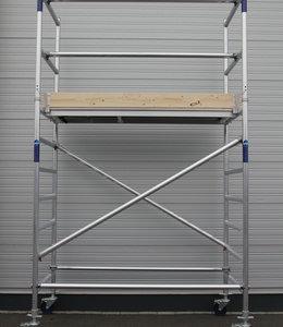 ASC-Basic-line rolsteiger 0,90 x 1,90 x 4,20 mtr.
