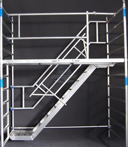 ASC Trappentoren 135 x 190 x 6,2 mtr. Platformhoogte