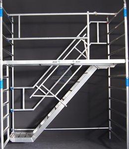 ASC Trappentoren 135 x 190 x 10,2 mtr. Platformhoogte