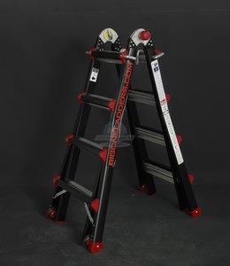 Bigone telescopische ladder 4 x 3 sporten