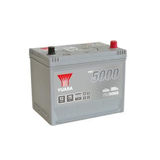 Yuasa YBX5068 12V 75Ah 650A Silver High Performance Accu