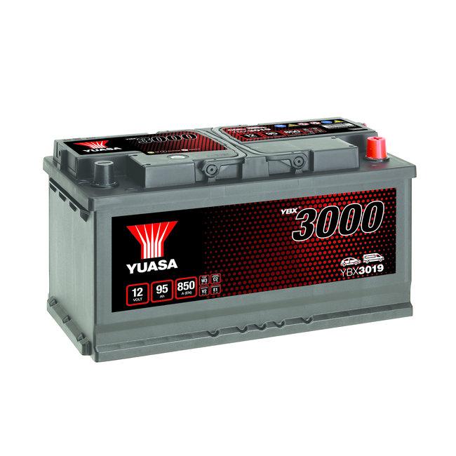 Yuasa YBX3019 12V 95Ah 850A SMF Accu