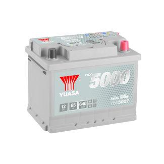 Yuasa YBX5027 12V 65Ah 640A Silver High Performance Accu
