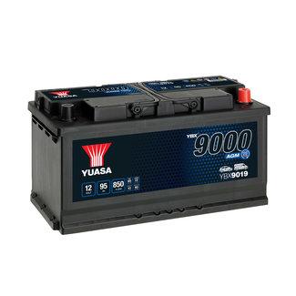 Yuasa YBX9019 12V 95Ah 850A Start Stop Plus AGM Accu