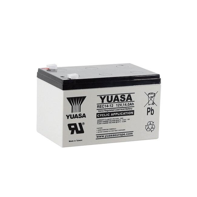 Yuasa REC14-12 12V 14Ah VRLA - Cyclische Loodvliesaccu
