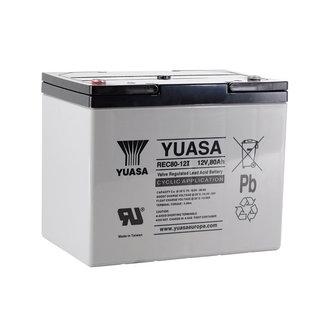 Yuasa REC80-12I 12V 80Ah VRLA - Cyclische Loodvliesaccu