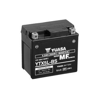 Yuasa YTX5L-BS 12V 5Ah Onderhoudsvrije Motor Accu