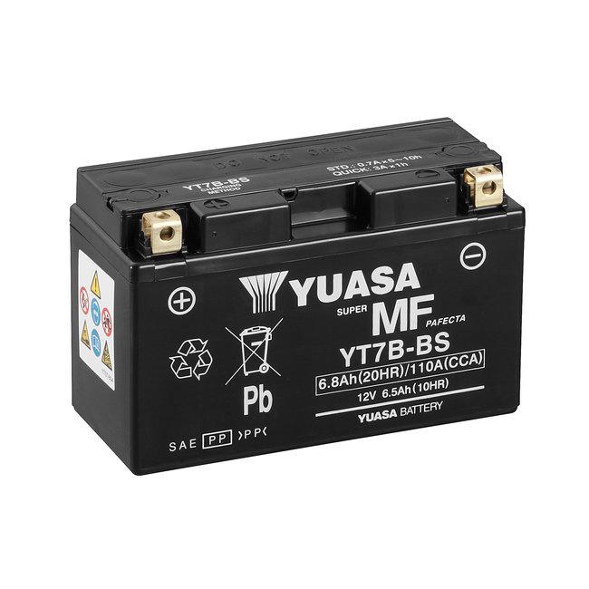 Yuasa YT7B-BS 12V 7Ah Onderhoudsvrije Motor Accu