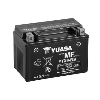 Yuasa YTX9-BS 12V 8Ah Onderhoudsvrije Motor Accu