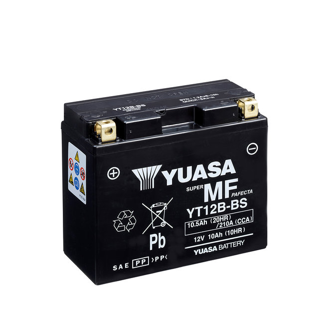 Yuasa YT12B-BS 12V 10Ah Onderhoudsvrije Motor Accu
