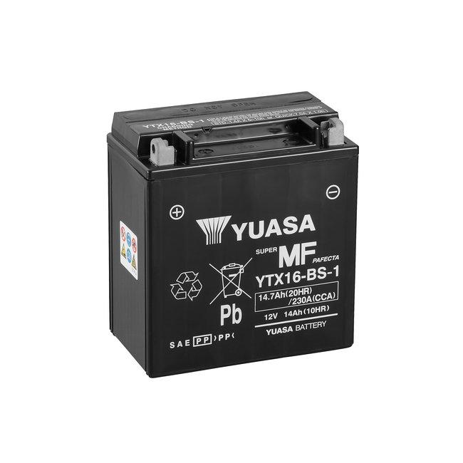 Yuasa YTX16-BS-1 12V 14Ah Onderhoudsvrije Motor Accu