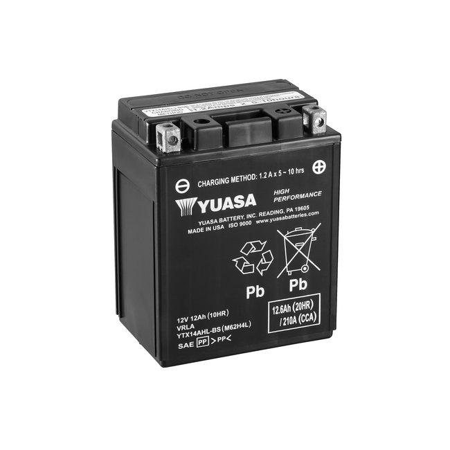 Yuasa YTX14AHL-BS 12V 12Ah High Performance Onderhoudsvrije Motor Accu