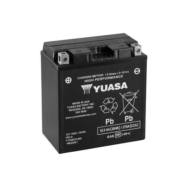 Yuasa YTX20CH-BS 12V 18Ah High Performance Onderhoudsvrije Motor Accu