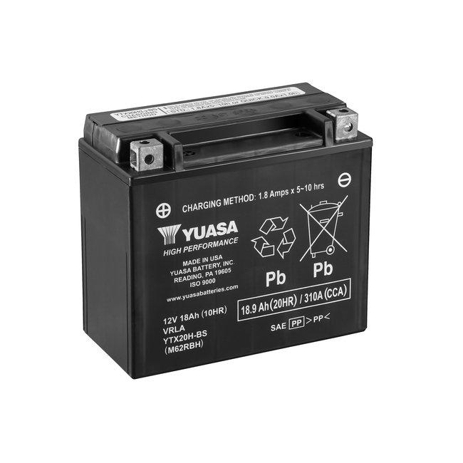 Yuasa YTX20H-BS 12V 18Ah High Performance Onderhoudsvrije Motor Accu