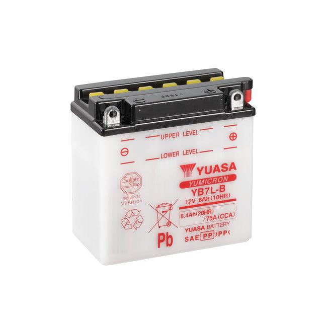 Yuasa YB7L-B 12V 8Ah Yumicron Motor Accu