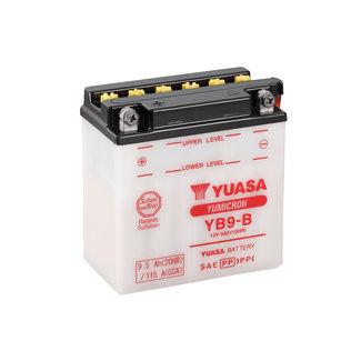 Yuasa YB9-B 12V 9Ah Motor Accu