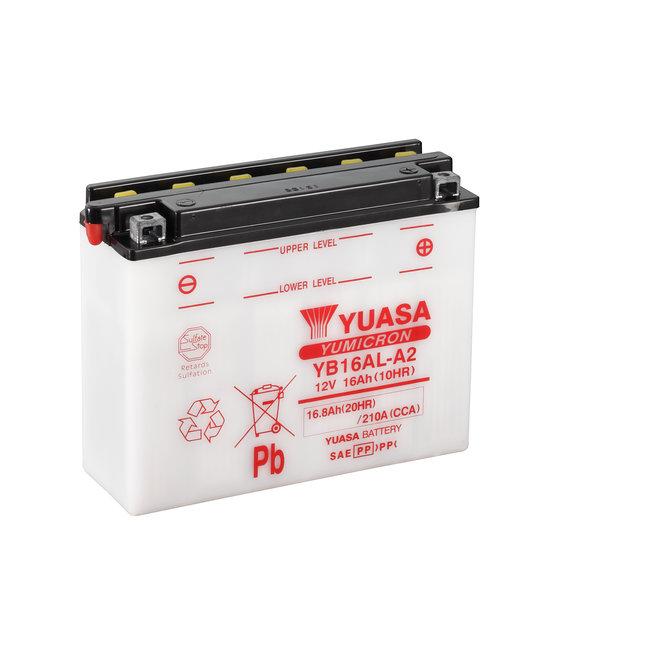 Yuasa YB16AL-A2 12V 16Ah Yumicron Motor Accu