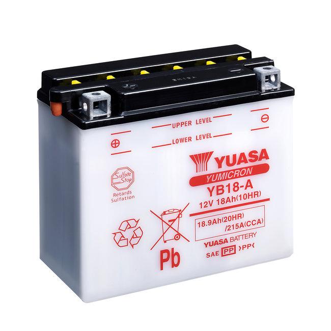 Yuasa YB18-A 12V 18Ah Yumicron Motor Accu