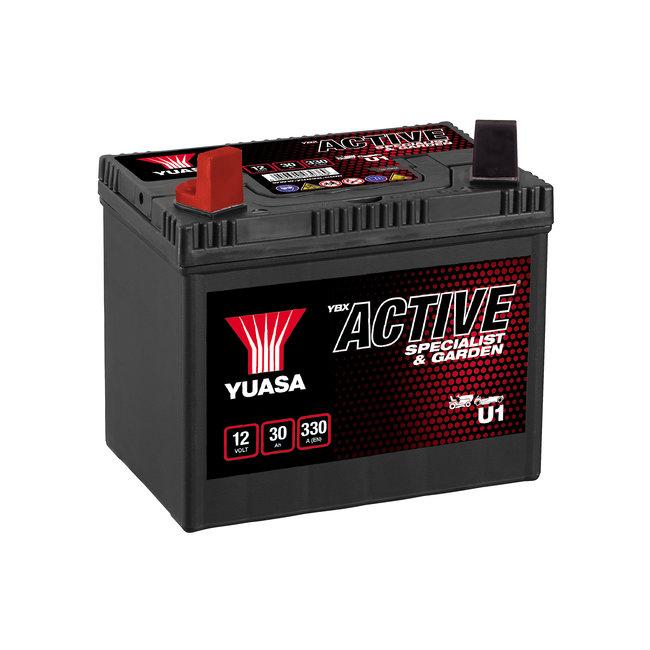 Yuasa U1 12V 30Ah YBX Active Specialist & Garden accu