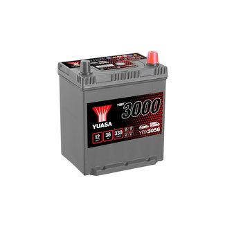 Yuasa YBX3056 12V 36Ah 330A SMF Accu