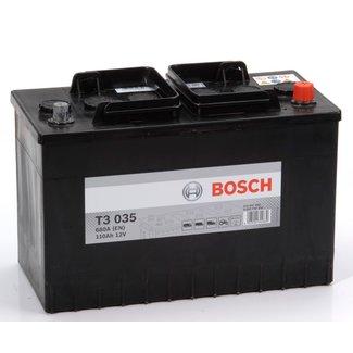 Bosch T3 035 12V 110Ah Heavy Duty Start Accu