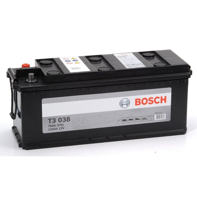 Bosch T3 038 12V 110Ah Heavy Duty Start Accu