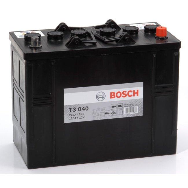Bosch T3 040 12V 125Ah Heavy Duty Start Accu