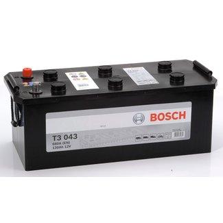 Bosch T3 043 12V 130Ah Heavy Duty Start Accu