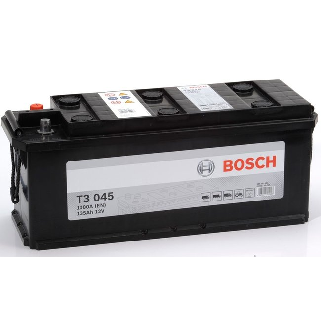 Bosch T3 045 12V 135Ah Heavy Duty Start Accu