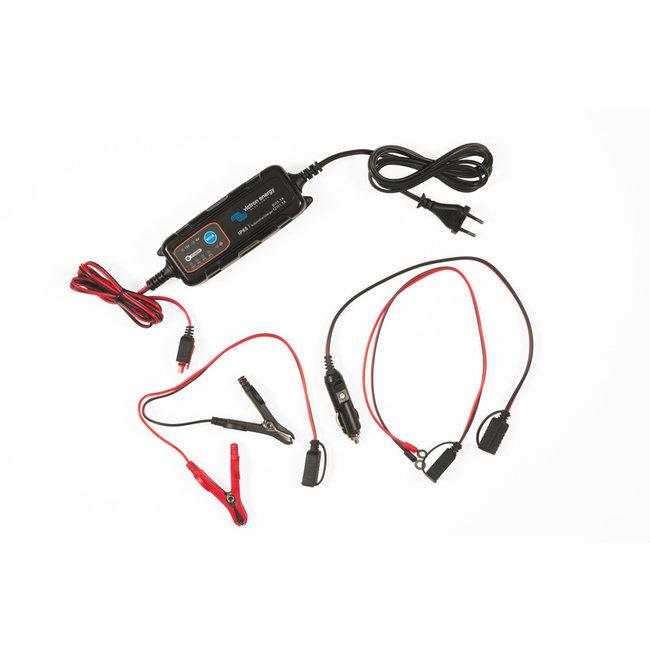Victron acculader IP65 6V/12V-1,1A met DC stekker