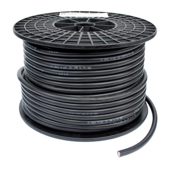 Accukabel 25 mm² - Zwart
