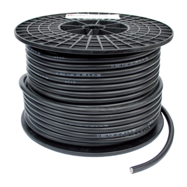 Accukabel 50 mm² - Zwart