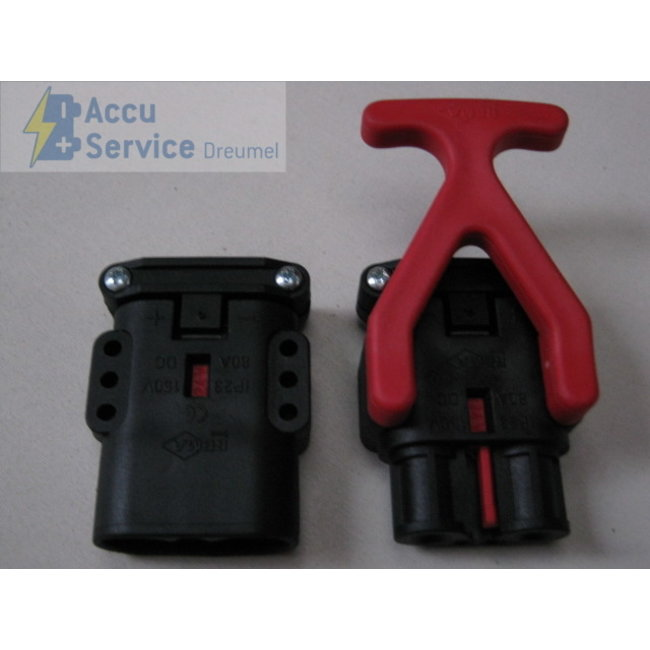 REMA 81201-00 FT 80 Stekker - 25 mm² - female (batterij)