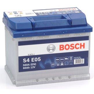 Bosch S4 E05 12V 60Ah EFB Start-Stop Accu