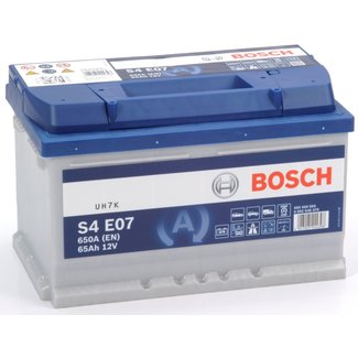 Bosch S4 E07 12V 65Ah EFB Start-Stop Accu