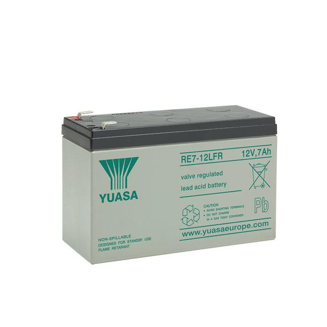 Yuasa RE7-12LFR 12V 7Ah Cyclische Loodvliesaccu