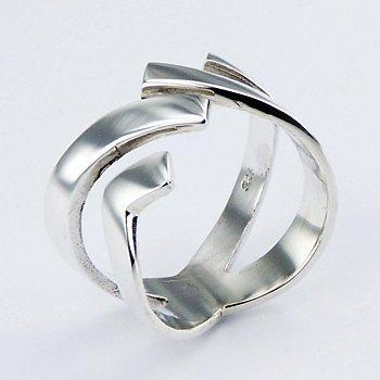 Exclusieve zilveren ring