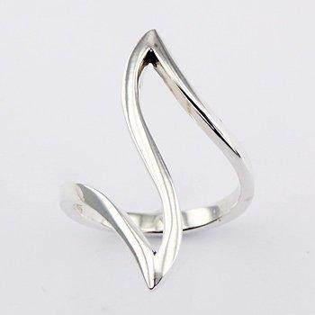 Design zilveren ring