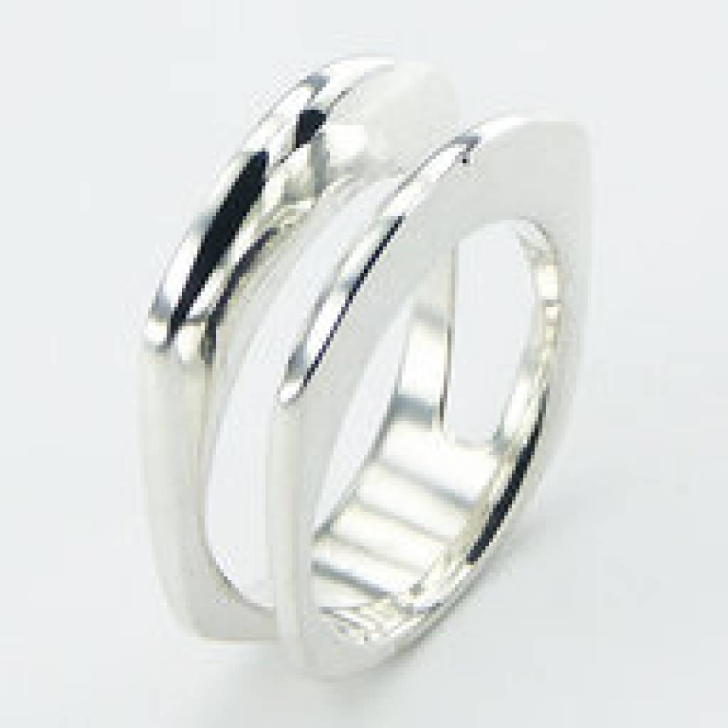 Uitzonderlijk Modern design zilveren ring - Antema aparte sieraden @JH96