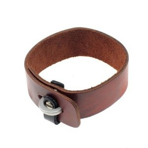Bijoux just a touch Exclusieve leren armband