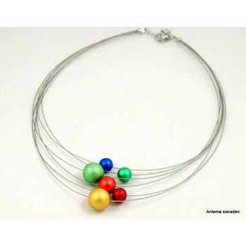 Mooi sieraden Bolletjes ketting van MOOI sieraden