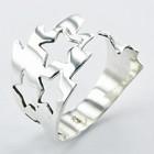 Bijzondere zilveren ring