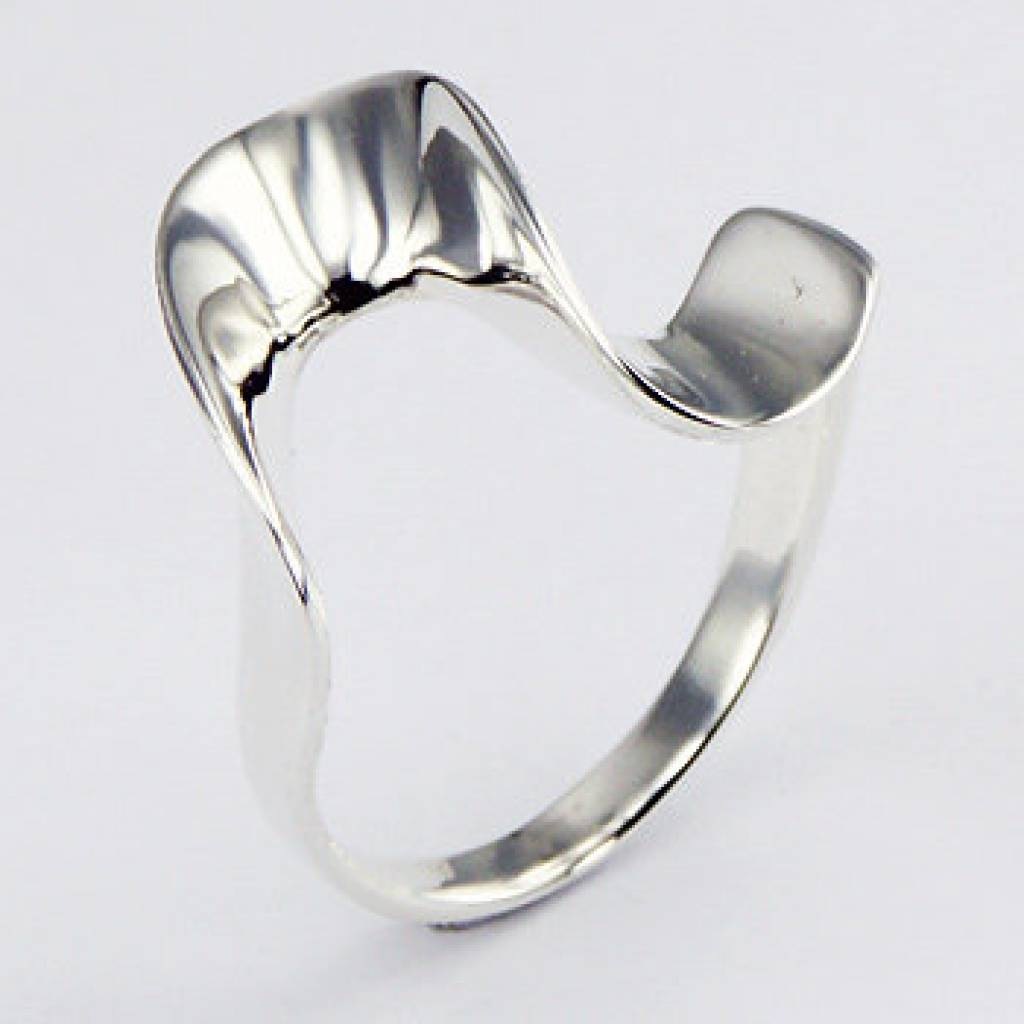 Bekend Mooie zilveren ring - Antema aparte sieraden &UJ83