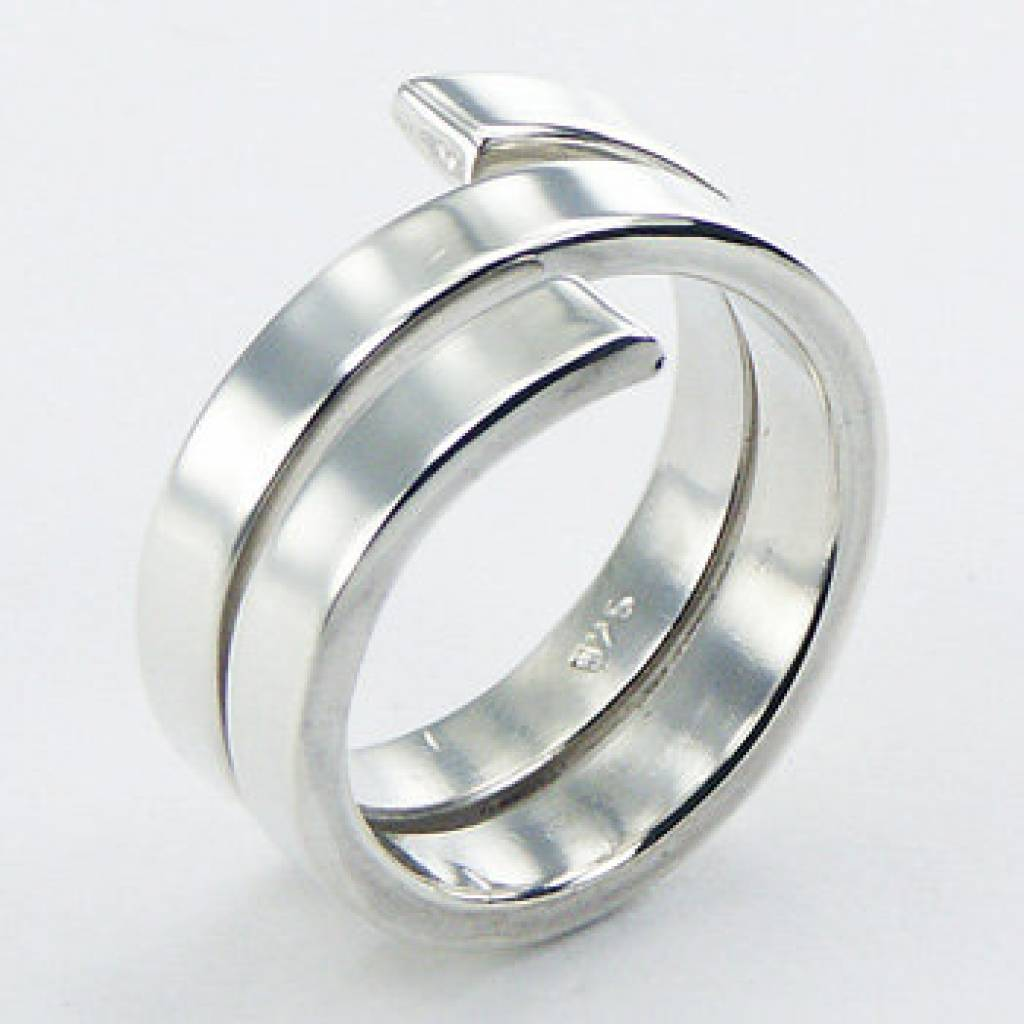Voorkeur Design zilveren ring - Antema aparte sieraden #DD81