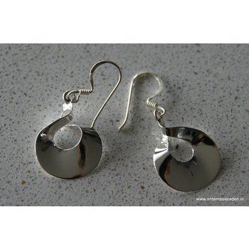 Mooi sieraden Bijzondere zilveren oorbellen