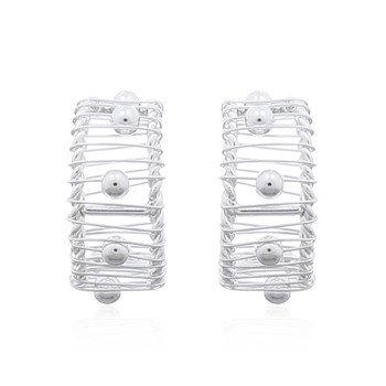 Speciale zilveren oorbellen