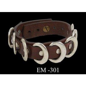 Osmanli Taki Moderne leren armband