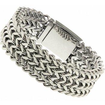 Bukovsky Fijne stalen armband