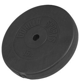 Gorilla Sports Halterschijf 7,5 kg Kunststof